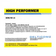 High Performer 80W-90 GL5 Getriebeöl Hypoid 20 Liter Kanister