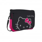 Geanta de umar Hello Kitty Black