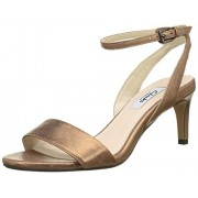Clarks Women's Amali Jewel Brown Leather Fashion Sandals - 5.5 UK/India (39 EU)