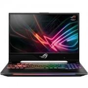 Лаптоп Asus STRIX GL504GS-ES056, Intel Core i7-8750H, 15.6 инча 144Hz, FHD 1920x1080 AG IPS, 16GB DDR4 2666MHz, HDD 1TB 5400, Сребрист,90NR00L1-M02350