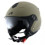Astone Casco Moto Jet Minijet Sport Matt Army