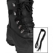 MIL-TEC® | Tkaničky do bot 220cm ČERNÉ