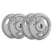 IP3H 10 kg Conjunto de Placas de Peso 4 x 2,50 kg 30 mm