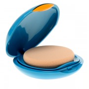 Shiseido Protector Solar Facial Sun UV Protective Compact Foundation Medium Ivory SP50 SPF30