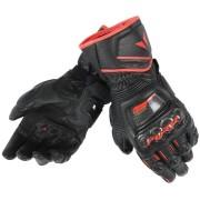 Dainese Druid D1 Långa motorcykel handskar Svart/röd L