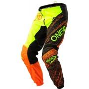 Oneal O´Neal Element Burnout Pantalón Negro/Naranja 28