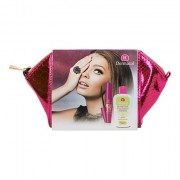 Dermacol Sensitive confezione regalo struccante occhi 150 ml + mascara Mega Lashes 12,5 ml + trousse