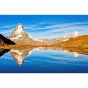 """FIRST Heating WIST NG """"Matterhorn"""" Infrarot-Bildheizung 90 x 60 / 800 W (WIST Motive: Matterhorn 3, Rahmen: Ohne Rahmen)"""