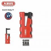 ABUS Antivol Bloque-disque ABUS 77 Granit Sledg grip rouge