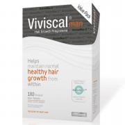 Viviscal Suplemento alimenticio para el cuidado capilar del hombre Man - Suministro de tres meses (180 pastillas)