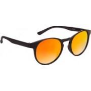 Voyage Round Sunglasses(Golden)