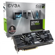 EVGA VGA NVIDIA GTX 1050 TI FTW ACX3.0 4GB DDR5