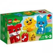 Конструктор Лего Дупло - Моите първи пъзели, LEGO DUPLO Creative Play, 10858