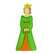Fa játék figurák - királyné