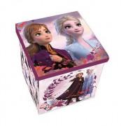 Disney Jégvarázs II játéktároló doboz tetővel Elza Anna