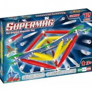 Jucarii Magnetice Supermag Classic Primary Set Constructie 72 piese