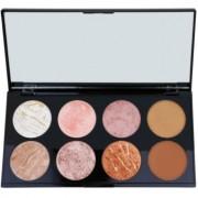 Makeup Revolution Ultra Blush paleta de coloretes tono Golden Sugar 13 g