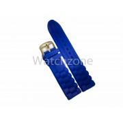Curea Ceas Silicon Albastru 18mm 20mm 22mm 24mm WZ754