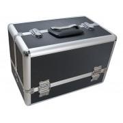 Cutie tip Cufar pentru depozitarea si transportul produselor cosmetice și a altor accesorii 36x22x24cm
