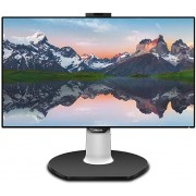 "Philips Brilliance 329P9H 32"" Monitor, 4K UHD, IPS, 108% sRGB, USB-C connectivity, Windows Hello pop-up Webcam, LightSensor, VESA, Height Adjustable, 4Yr Advance Replacement Warranty"