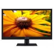"Monitor TFT, HannsG 19.5"", HL205DPB, 5ms, 80Mln:1, DVI, Speakers, 1600x900"