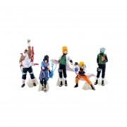 12 Cm 5pcs Juguetes Set De Figuras De Anime Naruto De Acción, Muñecas Juguetes Para Niños Set De Peluche Juguetes De Coches De Artículos De Menaje