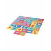 Covor puzzle cu litere si forme geometrice 38 piese
