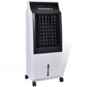 vidaXL Преносим охладител за въздух с пречиствател и овлажнител, 8 л