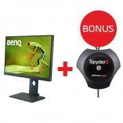 Benq SW240 LCD M4P IPS Photo Professional; 24.1 Bonus Calibrator Datacolor spyder Elite
