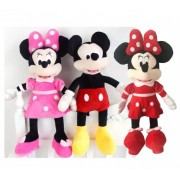 Set Minnie si Mickey Mouse muzicali 30 cm