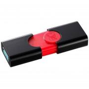 Memoria USB KINGSTON DataTraveler 106 64GB Negro/Rojo DT106/64GB