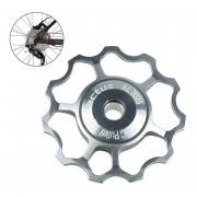 Kactus Rueda Jockey Pulley Shimano Aluminio Desviador Trasero SRAM 11t (Plateado)