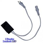 Controle Sequencial Mangueira Corda Luminosa LED 20 mts bivolt 1226