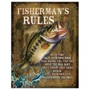 """Sign - Fishermans Rules"""