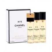 Chanel No.5 eau de toilette ricarica 3x20 ml donna