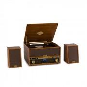 Auna Belle Epoque 1910, ретро стерео система, грамофон, CD плейър, високоговорители (TTS14-BelleEpoqu1910)