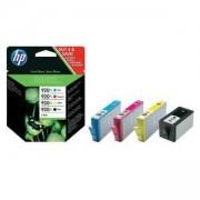 Тонер касета HP 920XL 4-pack High Yield Black/Cyan/Magenta/Yellow Original Ink Cartridges, C2N92AE