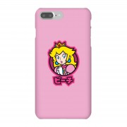 Nintendo Super Mario Peach Kanji Telefoonhoesje - iPhone 7 Plus - Snap case - mat