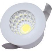 YES 1W Led Spot Light-1M-Round-White (EK1MRD01)