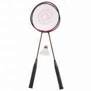 Amigo badmintonset Ch@t staal rood 4-delig