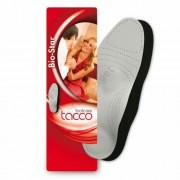 Lúdtalpbetét haránt és lábágy támasztékkal, sarokággyal, Tacco Bio-Star 667, 43-44