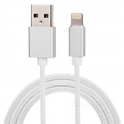 PHILIPS SWR2113Q / 93 mfi cargador y cable de sincronizacion de datos - plata (1m)