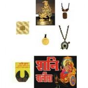 Kriwin Sampoorna Shani Dev Raksha Yantra Kawach 7 Items