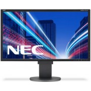 "Monitor TN LED NEC MultiSync 22"" EA223WM, DVI, VGA, DisplayPort, USB, 5 ms, Boxe, Pivot (Negru)"