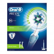 Oral-B Pro 670 Eltandborste - 1 Stk.
