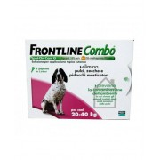 MERIAL ITALIA SpA Frontline Combo Spot-On 20-40kg 3 Pipette Da 2,68ml [Cani] (103655080)