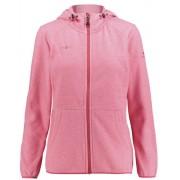 Kaikkialla Tiia Fleece - giacca in pile con cappuccio - donna - Red