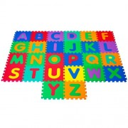 Hey! Play! Foam Floor Alphabet Puzzles Mat for Kids Puzzle