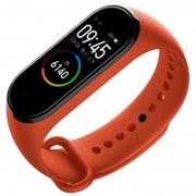 """XIAOMI XMSH07HM Smart Band 4 with 0.95"""" Color Amoled Display/Heart Rate Monitor - Orange"""