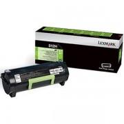 Lexmark 51F2H00 - 512H toner negro